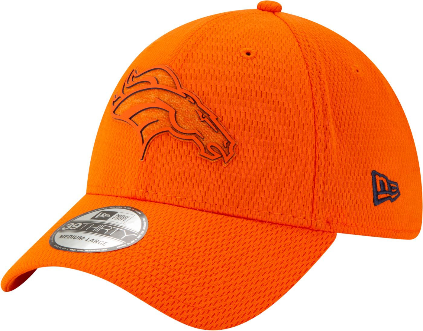 New Era Men's Denver Broncos Tonal Mold 39Thirty Stretch Fit Hat