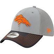 New Era Men's Denver Broncos Neo Grey Stretch Fit Hat