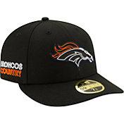 New Era Men's Denver Broncos 2020 NFL Draft 59Fifty Fitted Black Hat