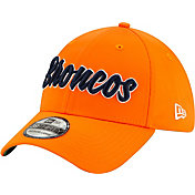 New Era Men's Denver Broncos Sideline Home 39Thirty Stretch Fit Hat