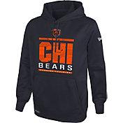 New Era Men's Chicago Bears Combine Performance Navy Hoodie