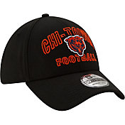 New Era Men's Chicago Bears 2020 NFL Draft Alternate 39Thirty Stretch Fit Black Hat