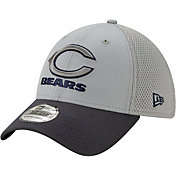 New Era Men's Chicago Bears Neo Grey Stretch Fit Hat