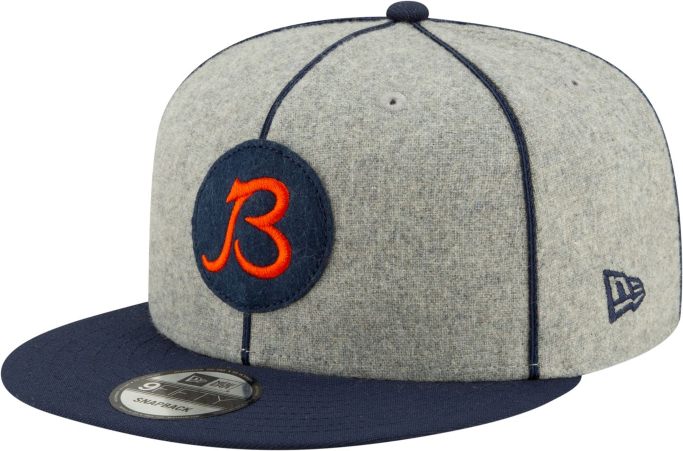 New Era Men's Chicago Bears Sideline Home 9Fifty Adjustable Hat