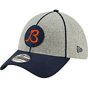 New Era Men's Chicago Bears Sideline Home 39Thirty Stretch Fit Hat
