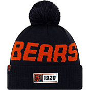 New Era Men's Chicago Bears Sideline Road Sport Pom Knit