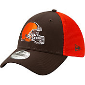 New Era Men's Cleveland Browns 2Tone Sided 39Thirty Stretch Fit Hat
