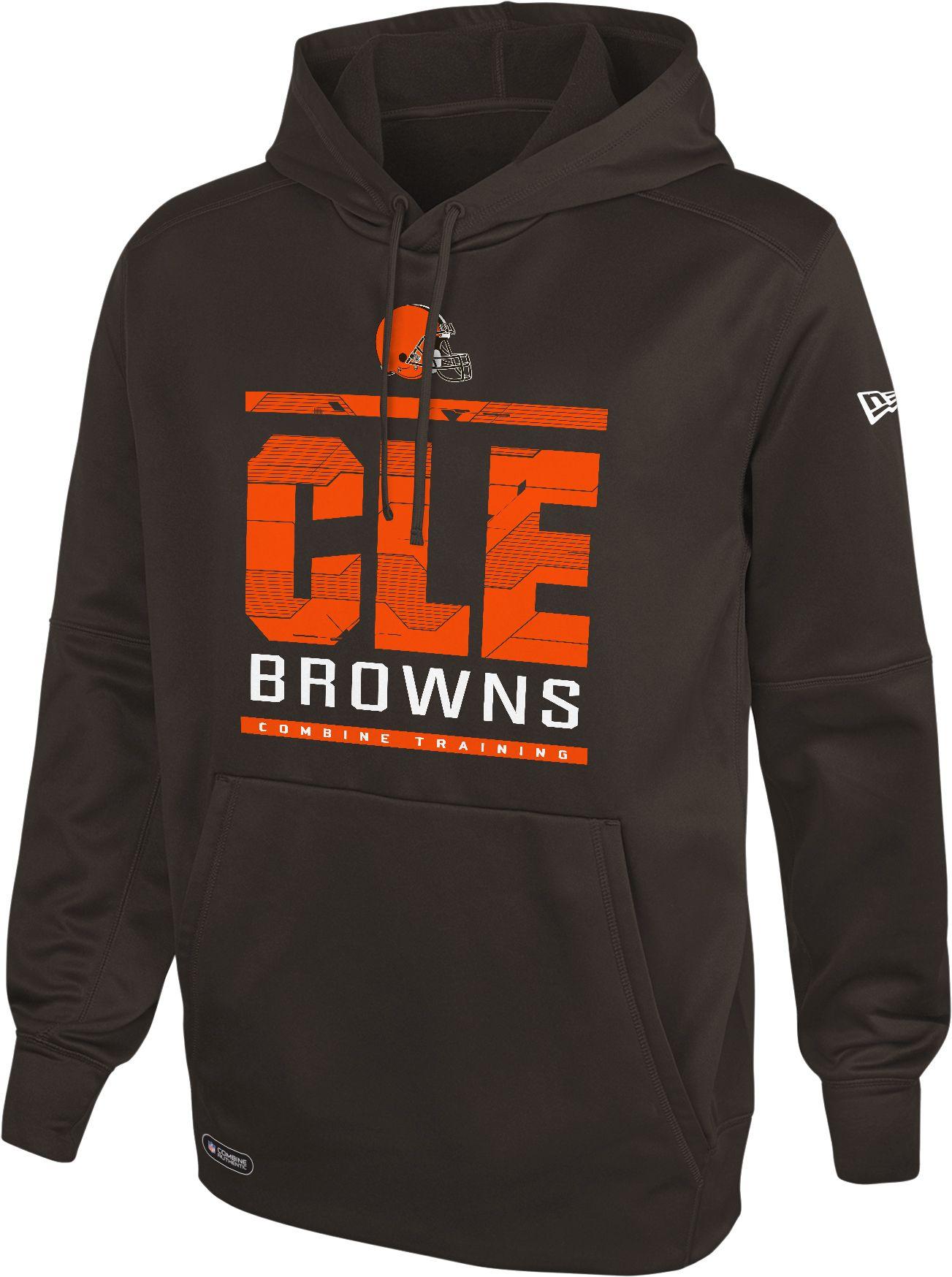 cleveland browns hooded sweatshirt