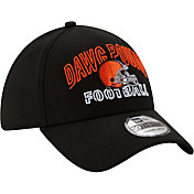New Era Men's Cleveland Browns 2020 NFL Draft Alternate 39Thirty Stretch Fit Black Hat
