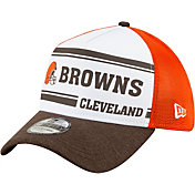 New Era Men's Cleveland Browns Sideline 1970 Home 39Thirty Stretch Fit Hat