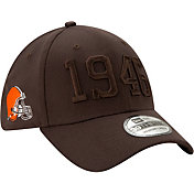 New Era Men's Cleveland Browns Sideline Color Rush 39Thirty Stretch Fit Hat