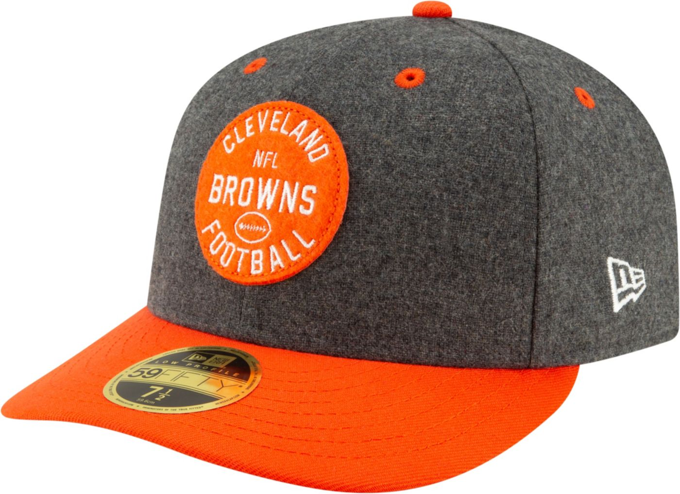 New Era Men's Cleveland Browns Sideline Home 59Fifty Fitted Hat