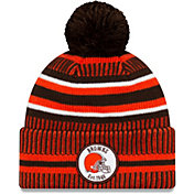New Era Men's Cleveland Browns Sideline Home Sport Pom Knit