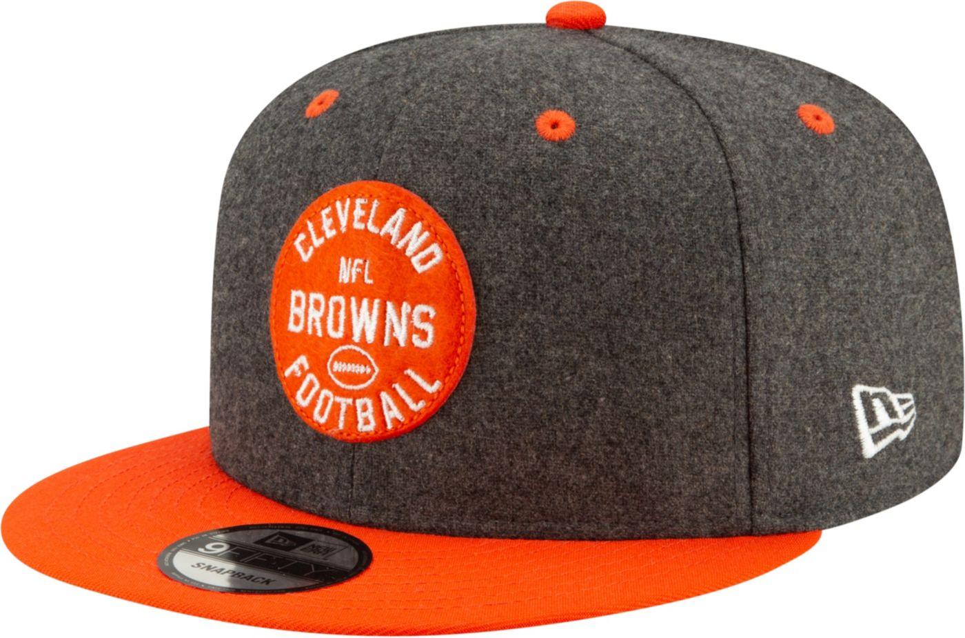 New Era Men's Cleveland Browns Sideline Home 9Fifty Adjustable Hat