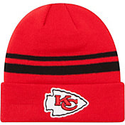 New Era Men's Kansas City Chiefs Red Cuffed Knit