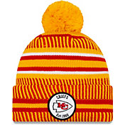 New Era Men's Kansas City Chiefs Sideline Home Sport Pom Knit