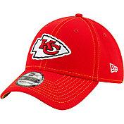 New Era Men's Kansas City Chiefs Sideline Road 39Thirty Stretch Fit Hat