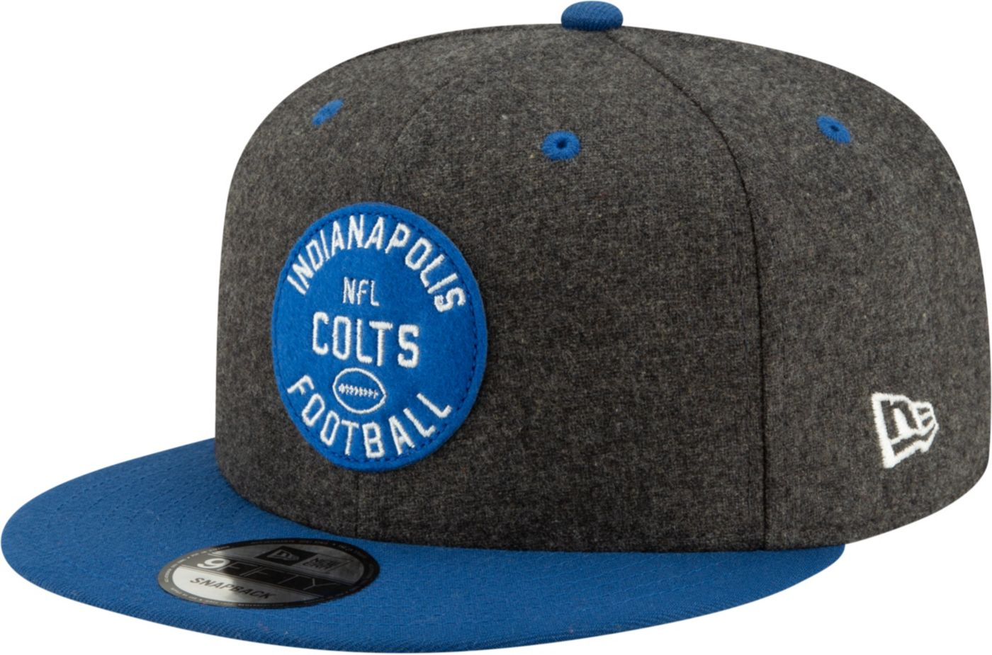 New Era Men's Indianapolis Colts Sideline Home 9Fifty Adjustable Hat