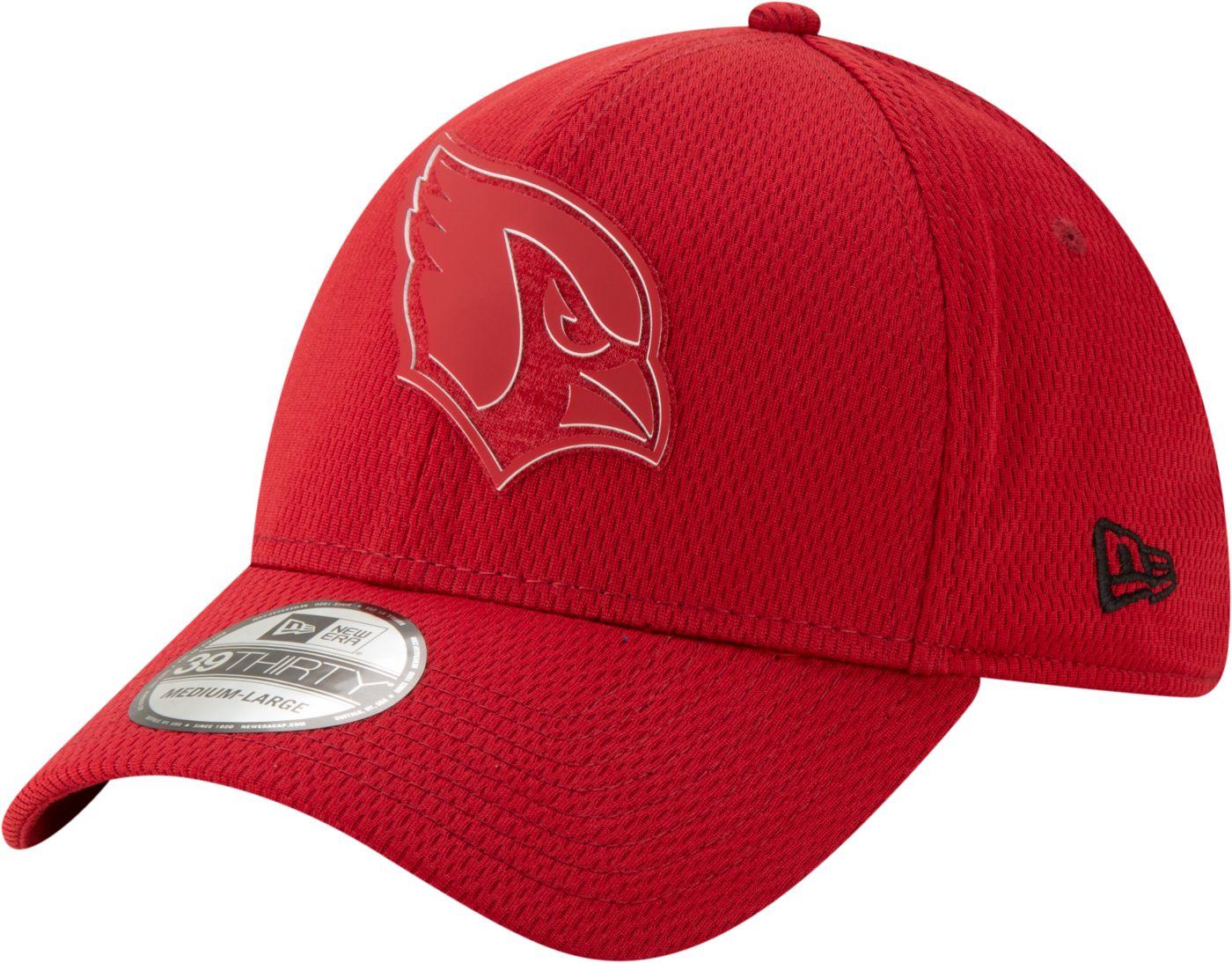 New Era Men's Arizona Cardinals Tonal Mold 39Thirty Stretch Fit Hat