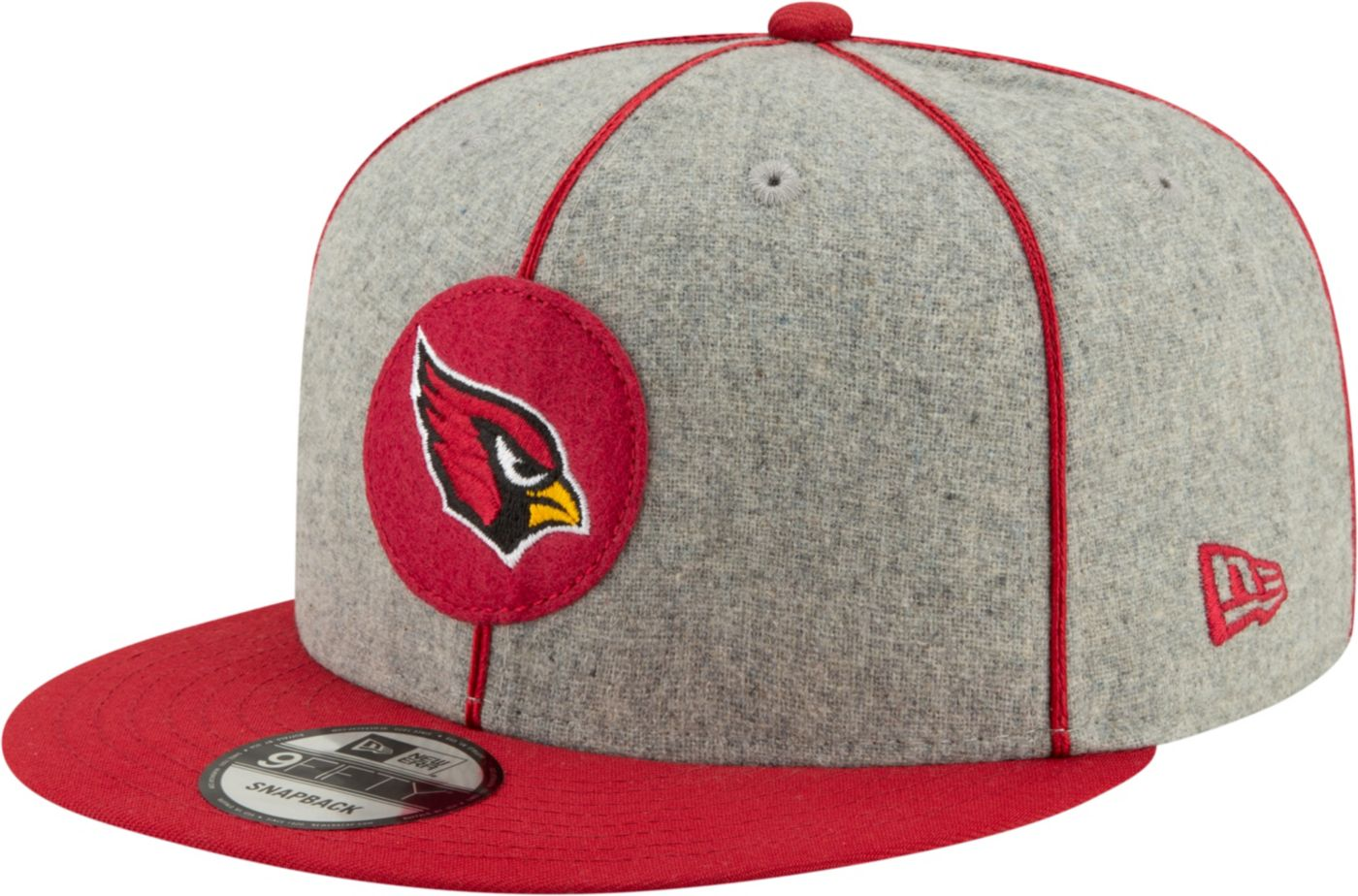 New Era Men's Arizona Cardinals Sideline Home 9Fifty Adjustable Hat