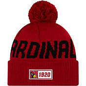 New Era Men's Arizona Cardinals Sideline Road Sport Pom Knit