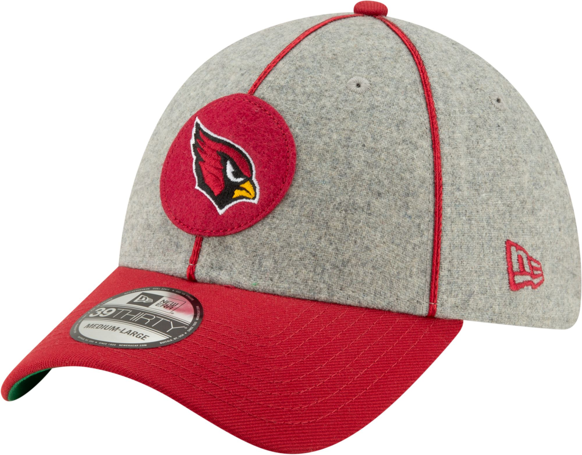 d4ade206 New Era Men's Arizona Cardinals Sideline Home 39Thirty Stretch Fit Hat