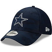 New Era Men's Dallas Cowboys Neo Camo Front 39Thirty Navy Stretch Fit Hat