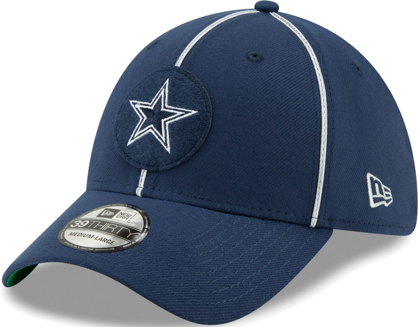New Era Men's Dallas Cowboys Sideline Home 39Thirty Stretch Fit Hat