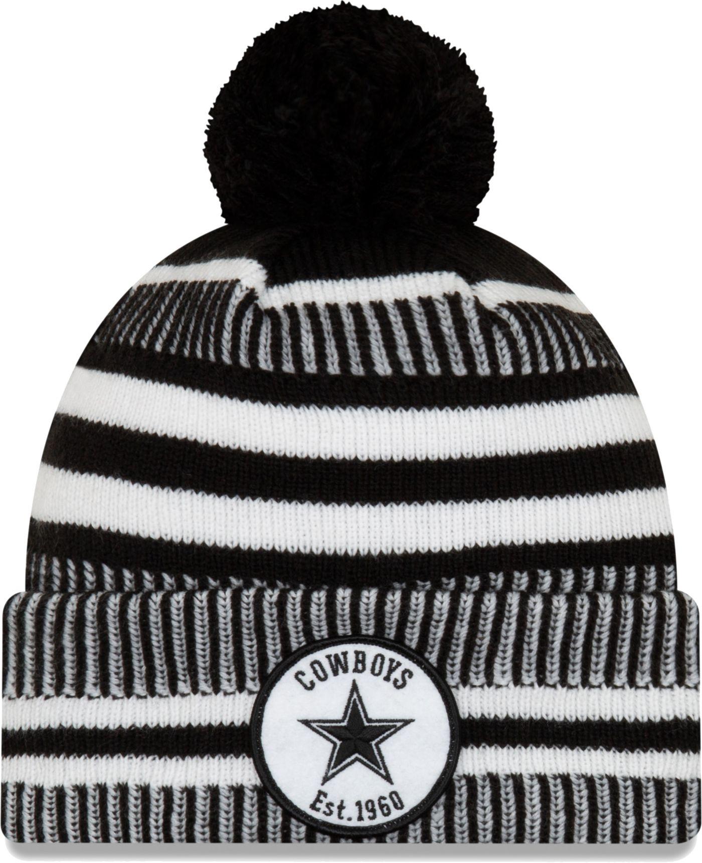 New Era Men's Dallas Cowboys Sideline Home Sport Pom Knit