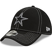 New Era Men's Dallas Cowboys Sideline 100th 39Thirty Stretch Fit Black Hat