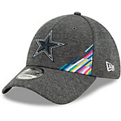 New Era Men's Dallas Cowboys Sideline Crucial Catch 39Thirty Graphite Stretch Fit Hat
