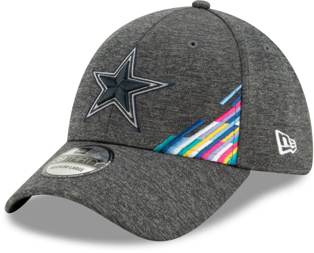 best service c70d2 faa65 New Era Men's Dallas Cowboys Sideline Crucial Catch 39Thirty Graphite  Stretch Fit Hat