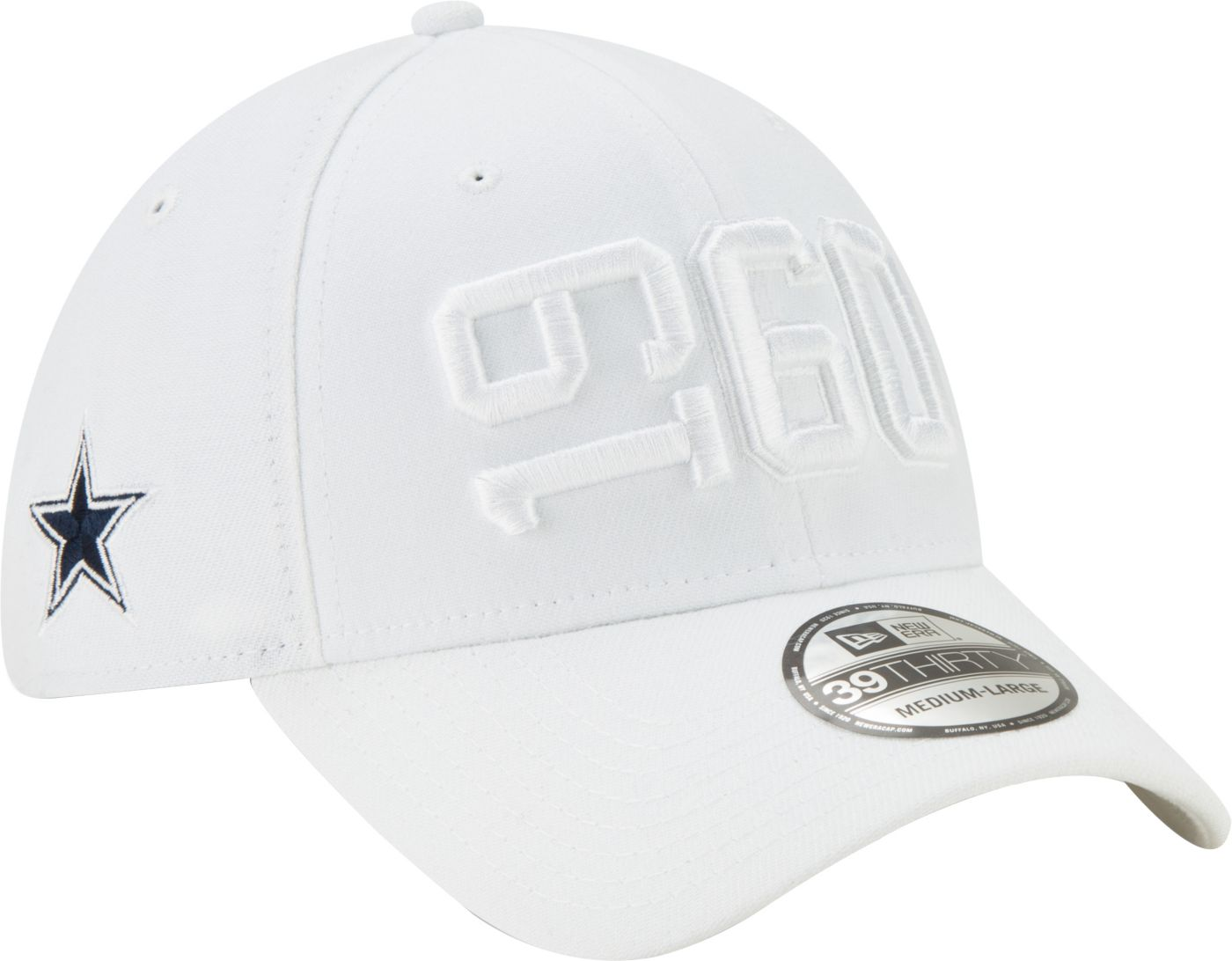 New Era Men's Dallas Cowboys Sideline Color Rush 39Thirty Stretch Fit Hat