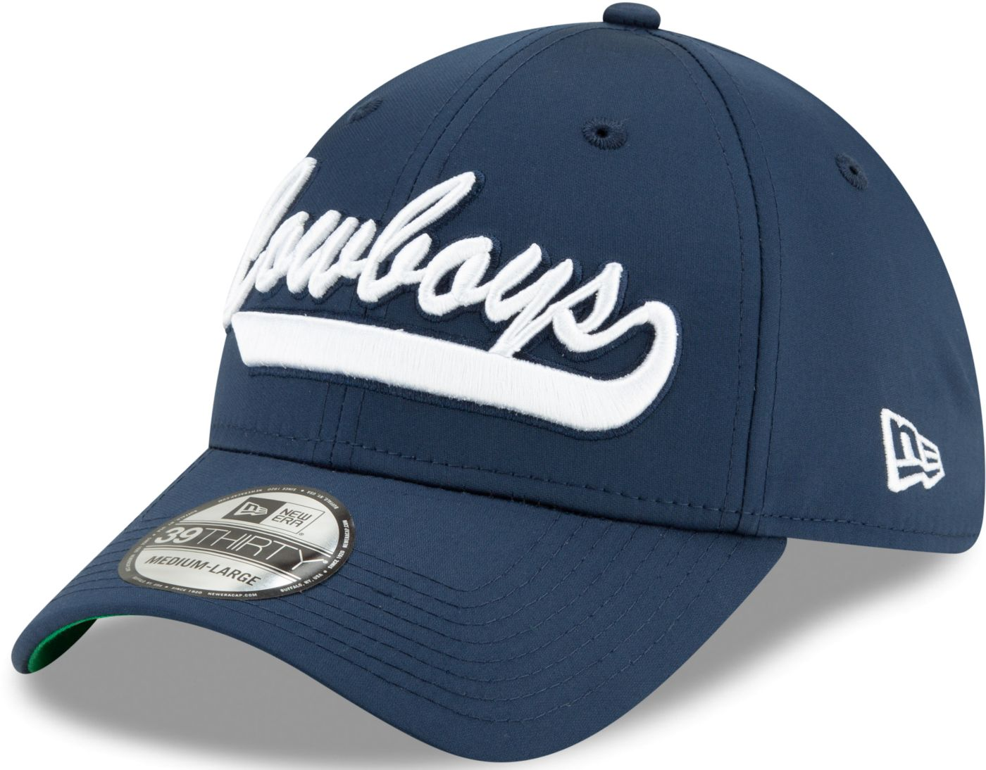 New Era Men's Dallas Cowboys Sideline 1960 Home 39Thirty Stretch Fit Hat