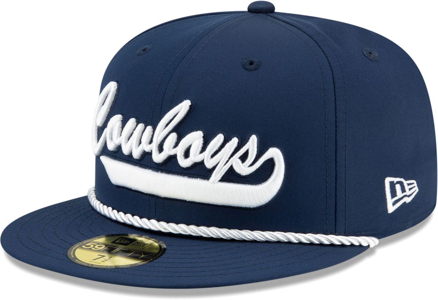 New Era Men's Dallas Cowboys Sideline 1960 Home 39Thirty Stretch Fit Hat