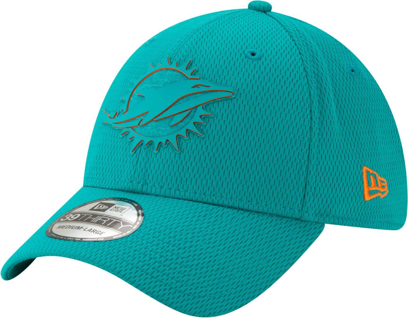 New Era Men's Miami Dolphins Tonal Mold 39Thirty Stretch Fit Hat