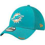 New Era Men's Miami Dolphins Neo Flex Aqua Stretch Fit Hat