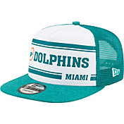 New Era Men's Miami Dolphins Sideline Home 9Fifty Adjustable Hat