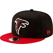 New Era Men's Atlanta Falcons 9Fifty Black Adjustable Hat
