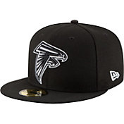 New Era Men's Atlanta Falcons 59Fifty Black Fitted Hat