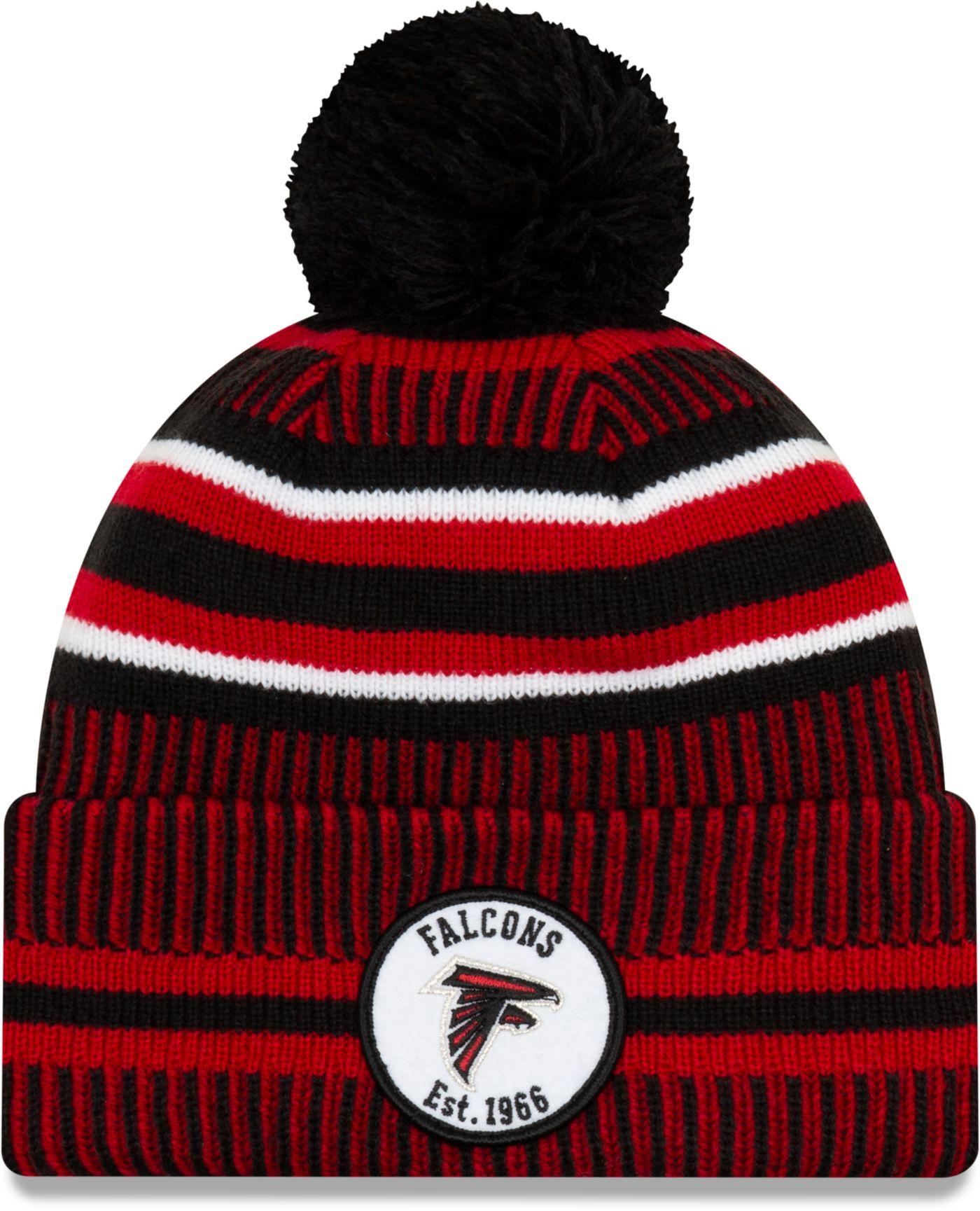 New Era Men's Atlanta Falcons Sideline Home Sport Pom Knit