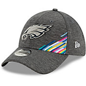 New Era Men's Philadelphia Eagles Sideline Crucial Catch 39Thirty Graphite Stretch Fit Hat