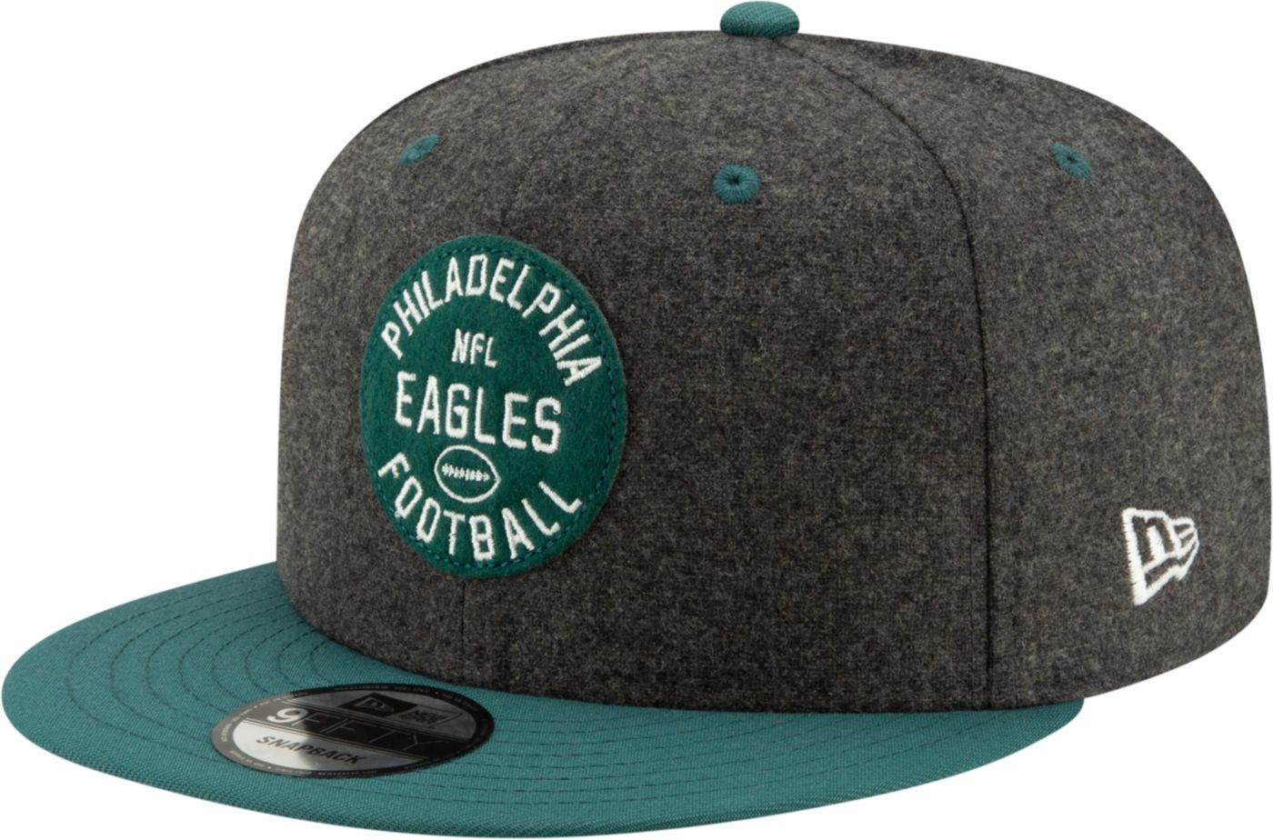 New Era Men's Philadelphia Eagles Sideline Home 9Fifty Adjustable Hat