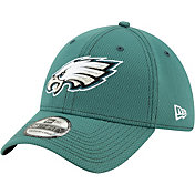 New Era Men's Philadelphia Eagles Sideline Road 39Thirty Stretch Fit Hat