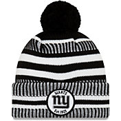 New Era Men's New York Giants Sideline Home Sport Pom Knit
