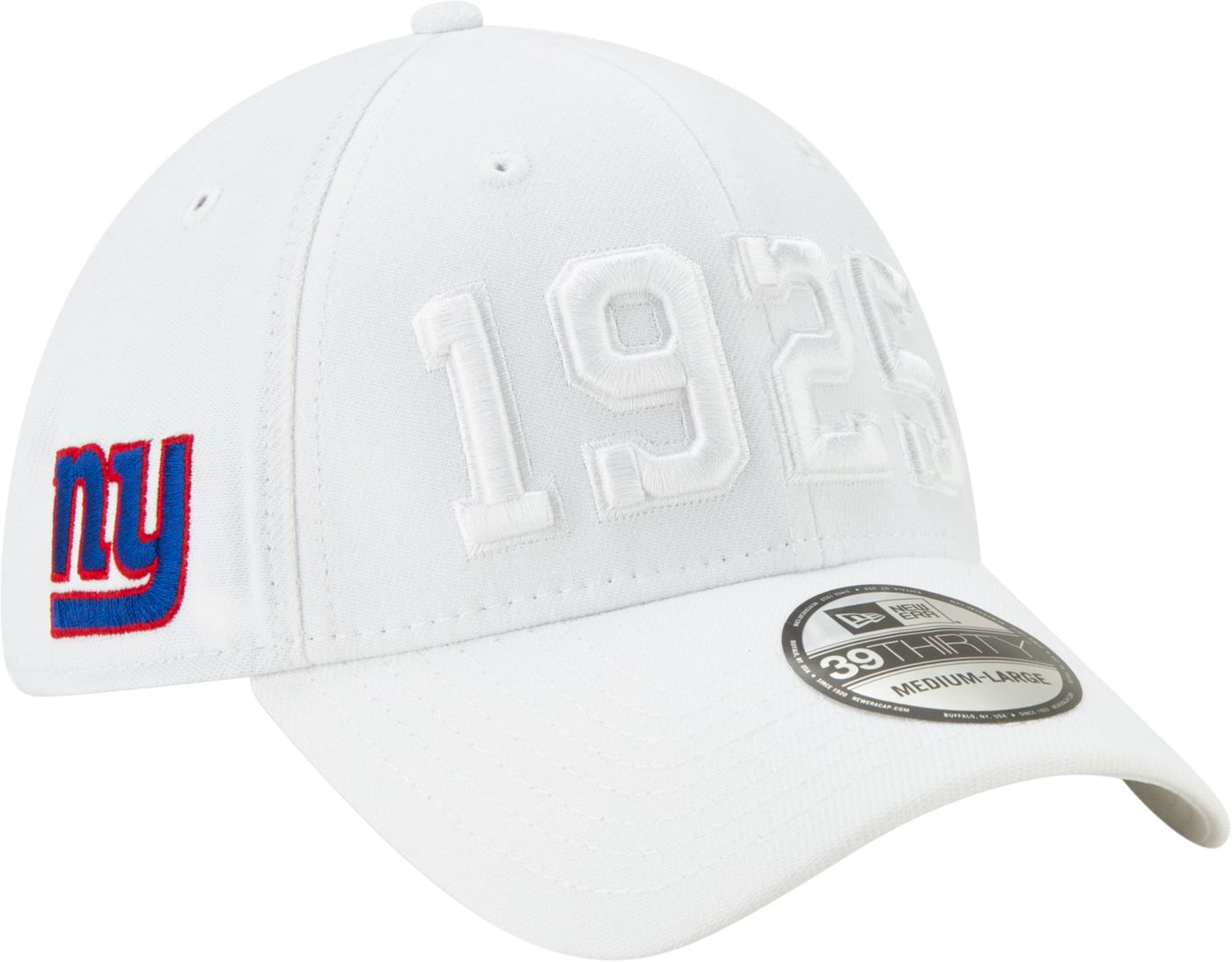 New Era Men's New York Giants Sideline Color Rush 39Thirty Stretch Fit Hat