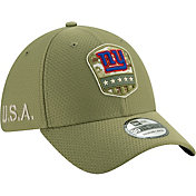 New Era Men's Salute to Service New York Giants 39Thirty Olive Stretch Fit Hat