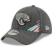 New Era Men's Jacksonville Jaguars Sideline Crucial Catch 39Thirty Graphite Stretch Fit Hat