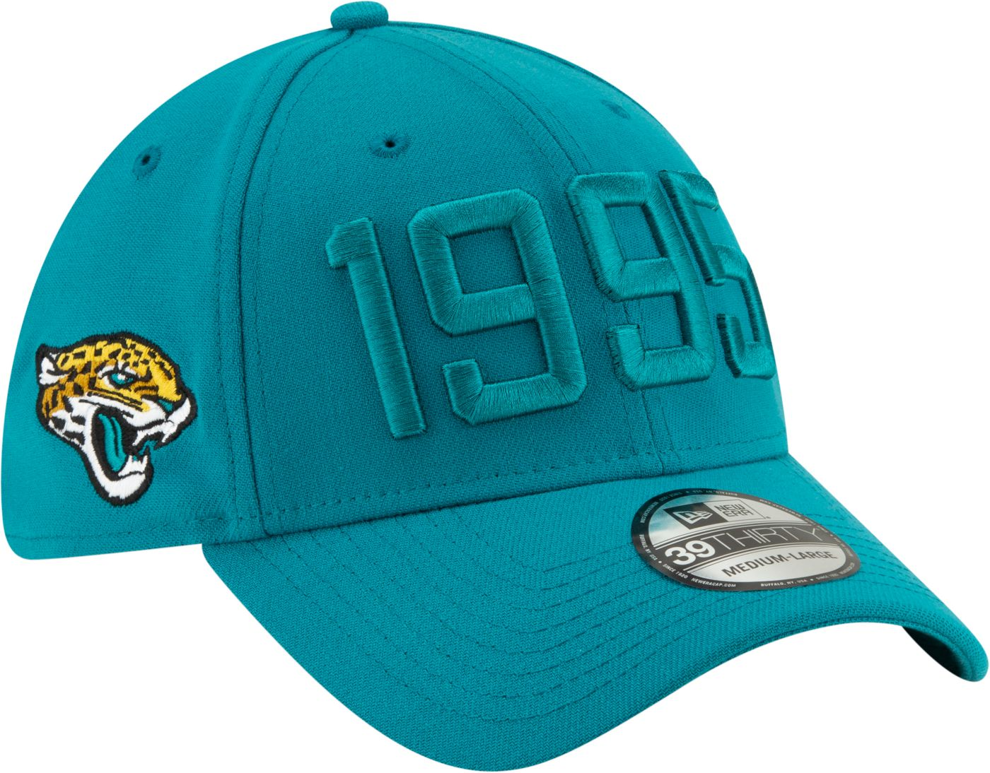 New Era Men's Jacksonville Jaguars Sideline Color Rush 39Thirty Stretch Fit Hat