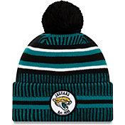 New Era Men's Jacksonville Jaguars Sideline Home Sport Pom Knit